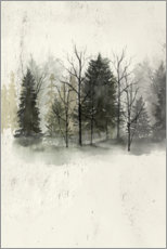 Acrylic print  November forest - Grace Popp