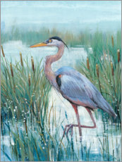 Canvas print  Heron in the morning mist - Tim O'Toole