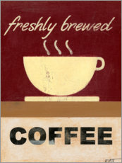Acrylic print  Freshly brewed coffee - Norman Wyatt