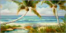 Acrylic print  Tropical beach - Inc DAG