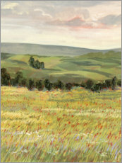 Canvas print  Morning meadow - Victoria Borges