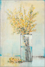 Wall sticker  Forsythia in the vase - Tim O'Toole