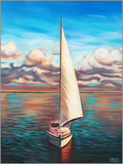 Wall sticker  Sunset Cruise II - Carolee Vitaletti