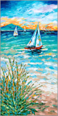 Wall sticker  Wind in my Sail I - Carolee Vitaletti