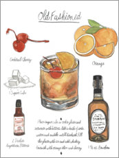 Canvas print  Classic Cocktail - Old Fashioned - Naomi McCavitt