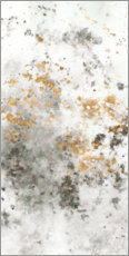 Canvas print  Gilded Mist II - Studio W