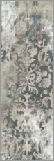 Wood print  Weathered Damask Panel I - June Vess