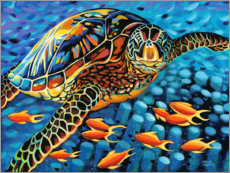 Wall sticker  Under water I - Carolee Vitaletti
