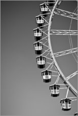 Gallery print  Ferris wheel on the Oktoberfest, Munich - Seepia Fotografie