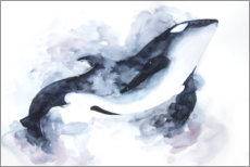 Canvas print  Space Orca - Déborah Maradan