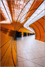 Canvas print  Tunnel Marienplatz - MUXPIX