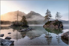 Gallery print  Small islands in the Hintersee - MUXPIX