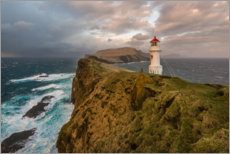 Acrylic print  Lighthouse in the storm - Denis Feiner