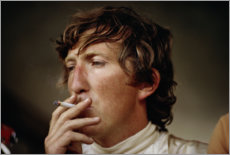 Gallery print  Jochen Rindt with cigarette, Red Bull Ring Austria 1979