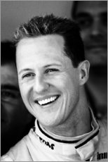 Gallery print  Michael Schumacher for Mercedes GP, F1 Barcelona 2010