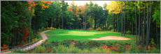 Premium poster  New England Golf Course