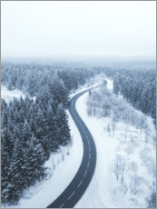 Wall sticker  Winter in the Harz - Lukas Saalfrank