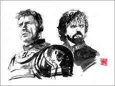 Premium poster Jaime and Tyrion