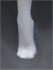 Canvas print  White stocking II - Xue Ruozhe
