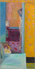 Premium poster  Nude in an interior - Pierre Bonnard