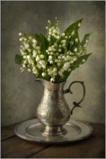 Canvas print  Still life with lily of the valley - Jaroslaw Blaminsky