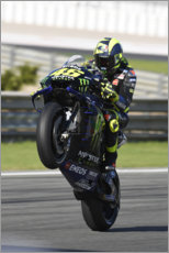 Gallery print  Valentino Rossi, Yamaha Factory Racing, Valencia GP 2019