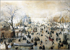 Gallery print  Winter Landscape - Hendrick Avercamp