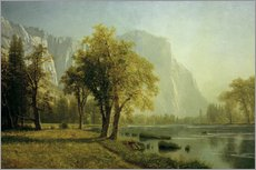 Wall sticker  El Capitan, Yosemite Valley - Albert Bierstadt
