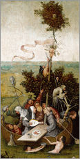Wall sticker  The ship of fools - Hieronymus Bosch