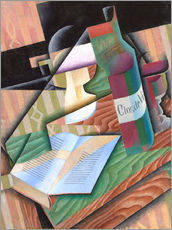 Gallery print  The book - Juan Gris