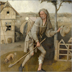 Wall sticker  The Vagabond - Hieronymus Bosch