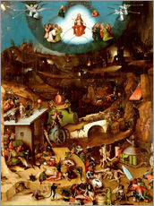 Gallery print  The Last Judgement - Hieronymus Bosch