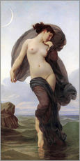 Wall sticker  Twilight - William Adolphe Bouguereau