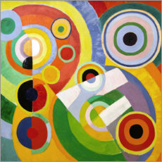 Aluminium print  Joy of life - Robert Delaunay