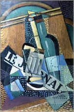 Gallery print  The newspaper - Juan Gris