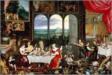 Gallery print  Senses - Jan Brueghel d.Ä.