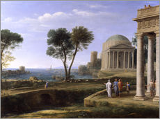 Wall sticker  Aeneas in Delos - Claude Lorrain