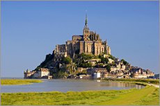 Wall Stickers  The island of Mont Saint Michel - David R. Frazier