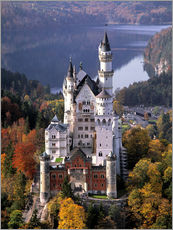 Gallery print  Neuschwanstein and Alpsee in Bavaria, Germany - Ric Ergenbright
