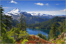 Gallery Print  Iceberg Lake and Mount Baker - Don Paulson