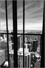 Gallery print  Window view of Central Park - Buellom
