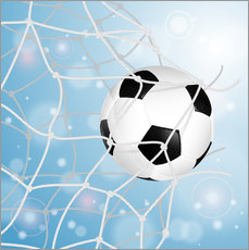 Wall sticker Soccer Ball in Net