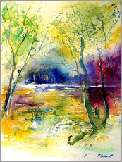 Wall Sticker  The glade in the forest - Pol Ledent