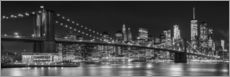 Gallery print  New York City Skyline - Melanie Viola