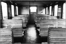 Gallery print  Old train compartment - Falko Follert
