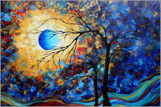 Wall Sticker  eye of the universe - Megan Duncanson