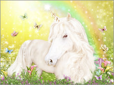 Wall sticker  Unicorn of Happiness - Dolphins DreamDesign