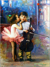 Gallery print  Melody of colors 4 - Yoo Choong Yeul