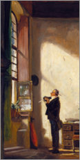 Gallery Print  The Writer - Carl Spitzweg