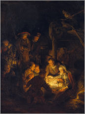 Wall sticker Adoration of the Shepherds. 1646